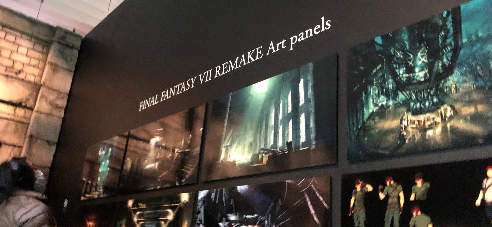 Final Fantasy VII Remake Concept Art Debuts At Final