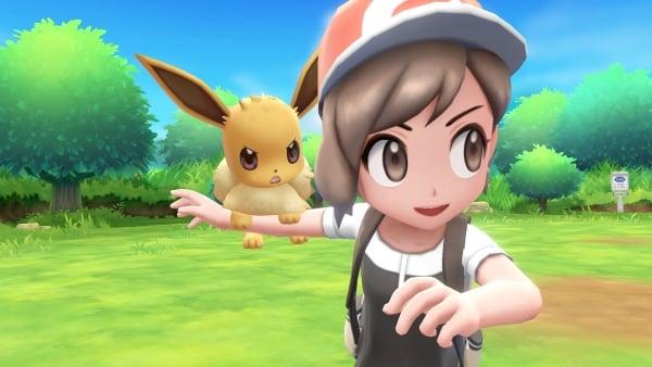 Lanzamiento de Pokémon let's go