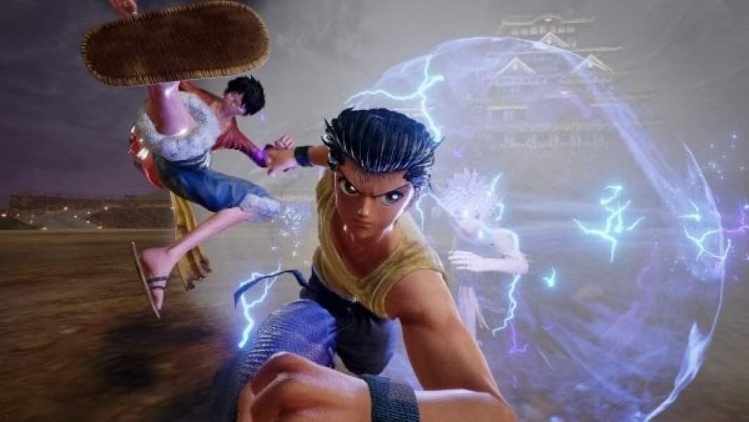 نتيجة بحث الصور عن jump Force Yu Yu Hakusho