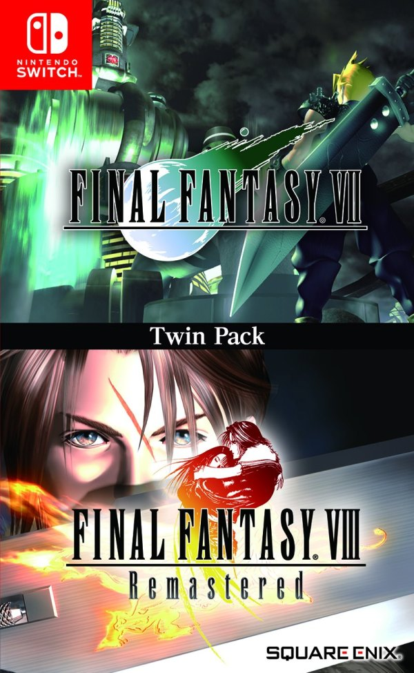 Final Fantasy VII and VIII Remastered Will Get a Physical Release On Nintendo Switch Overseas