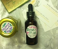 Coconut Herbal Balm and Rose Pine Face oil from Wildly Natural Skincare!