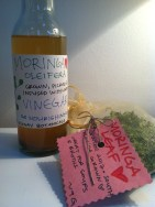 Moringa oleifera vinegar and dried leaf from Paula of Munay Botanicals