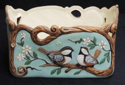 birdplanterGem Ceramic Mold Lancaster Denver  - Molds
