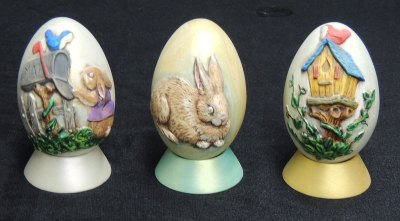eastereggsGem Ceramic Mold Lancaster Denver  - Molds