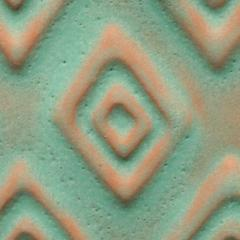 a22 aztec turquoise tribal chip 2048px - Clay And Slip - NEW