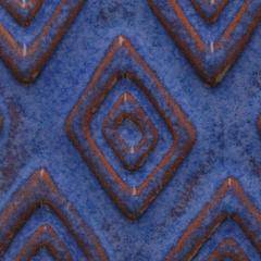 a24 exotic blue tribal chip 2048px - Clay And Slip - NEW