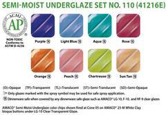lg4 461 - Semi-Moist Underglaze Set #110
