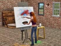Kunstbereich innen
