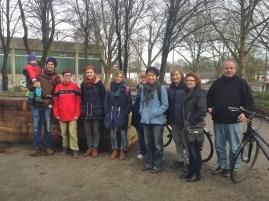 Erstes Treffen im Planckgarten