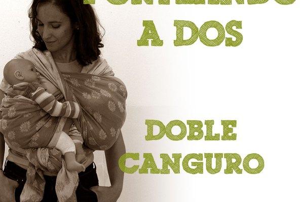 Fular tejido, Doble canguro #PorteandoADos