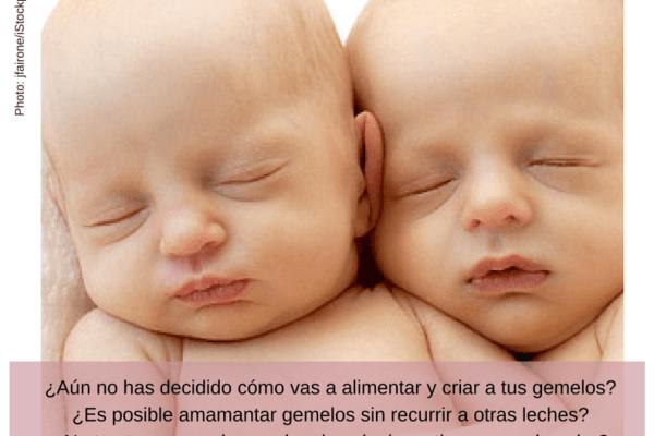 Taller de lactancia materna con gemelos en Entre Mamás