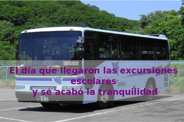 excursiones escolares en bus