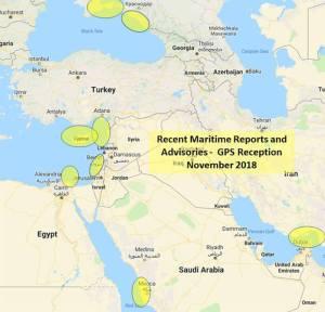GPS Uyduları Akdeniz ve Kızıl Denizde Kesintiye Uğradı