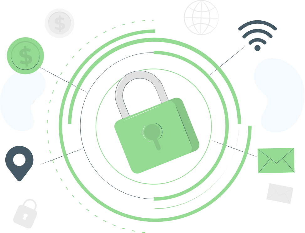 Cybersecurity leaked credentials monitoring