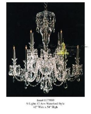 Gemini Cut Glass Company Crystal Chandeliers Lighting Lanterns Fixtures Manufacturer