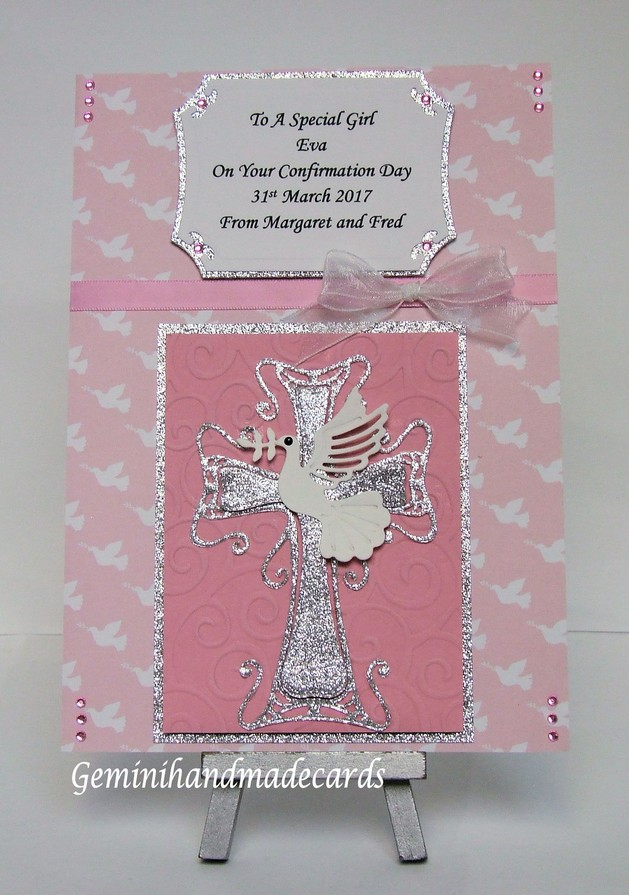 Christening Cards Twins