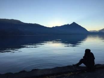 Lake Thun, Interlaken, Switzerland