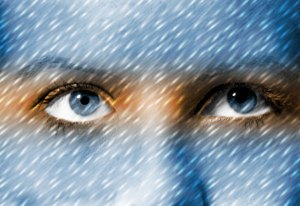 Image of Light Painting Alien Eyezed