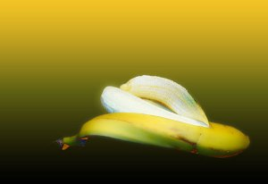 Image of Light Painting Banana Appeal