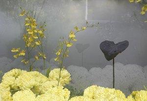 Image of Light Painting Black Leaf