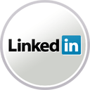 Image of Linkedin Logo is associated with the Homepage, About Us, Products, Gallery, Theater, Books, Contact Us and News pages
