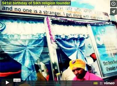 Sikh temple celebration in Manila