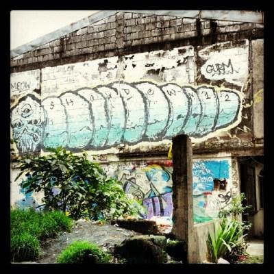 centipede graffiti