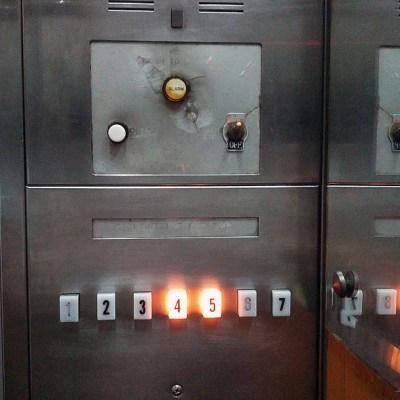 retro elevator panel