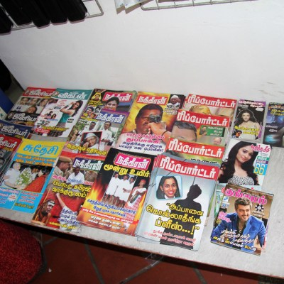 tabloid newsstand two pack