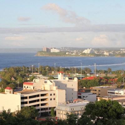 Guam skyline