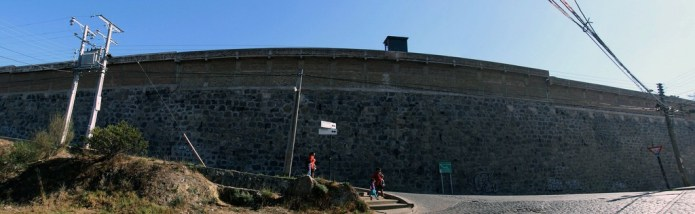 park in former prison