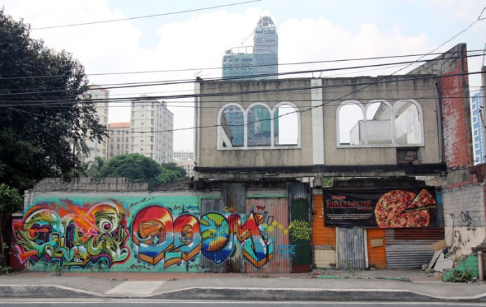 graffiti, new manila, Philippines