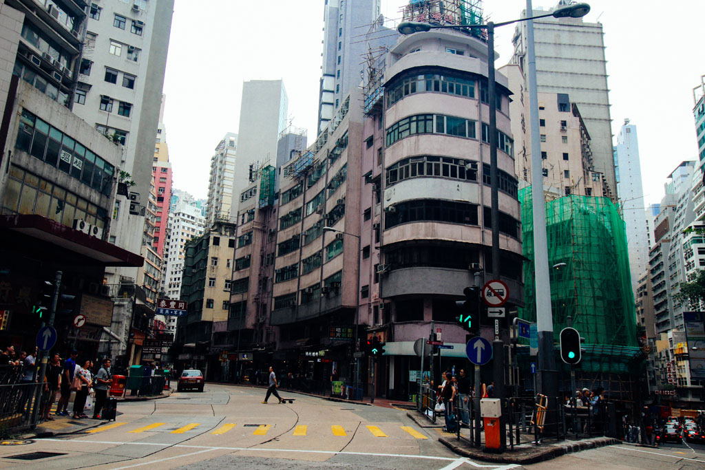 weekend trip to Hong Kong, October 2016Queen's Road Central