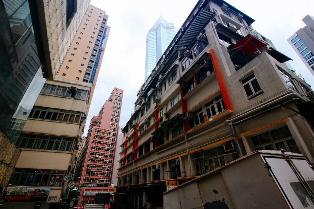weekend trip to Hong Kong, October 2016 near Sheung Wan