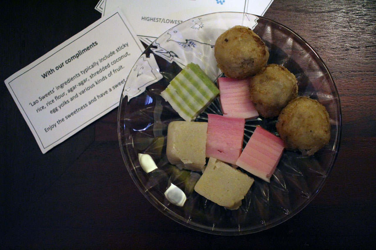Lotus Villa hotel – local sweets