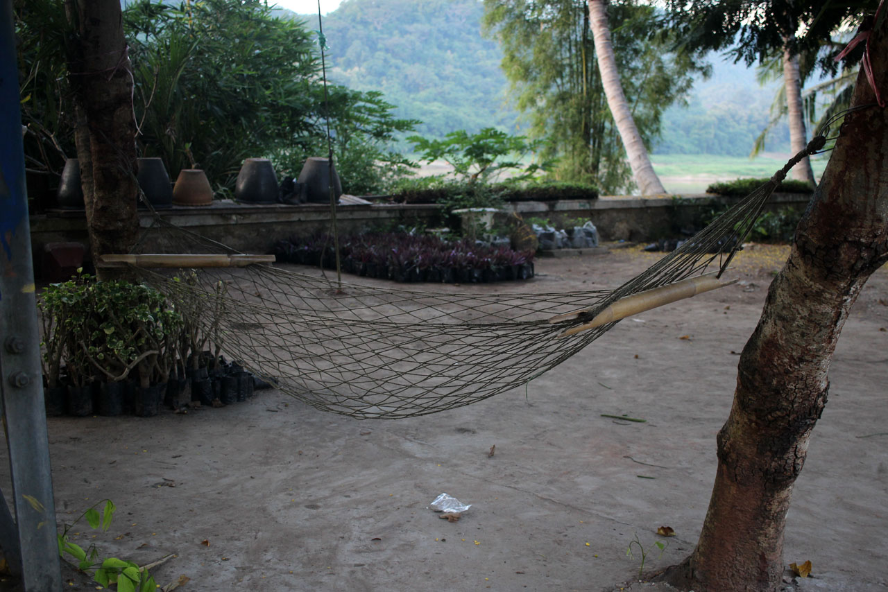 hammock by the Mekong River