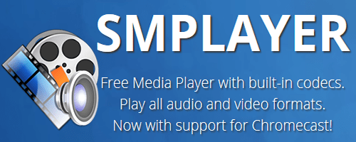 SMPlayer riproduce senza alcun problema formati audio e video