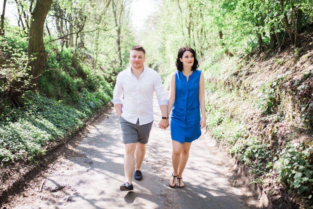 Flatford Mill couple photos