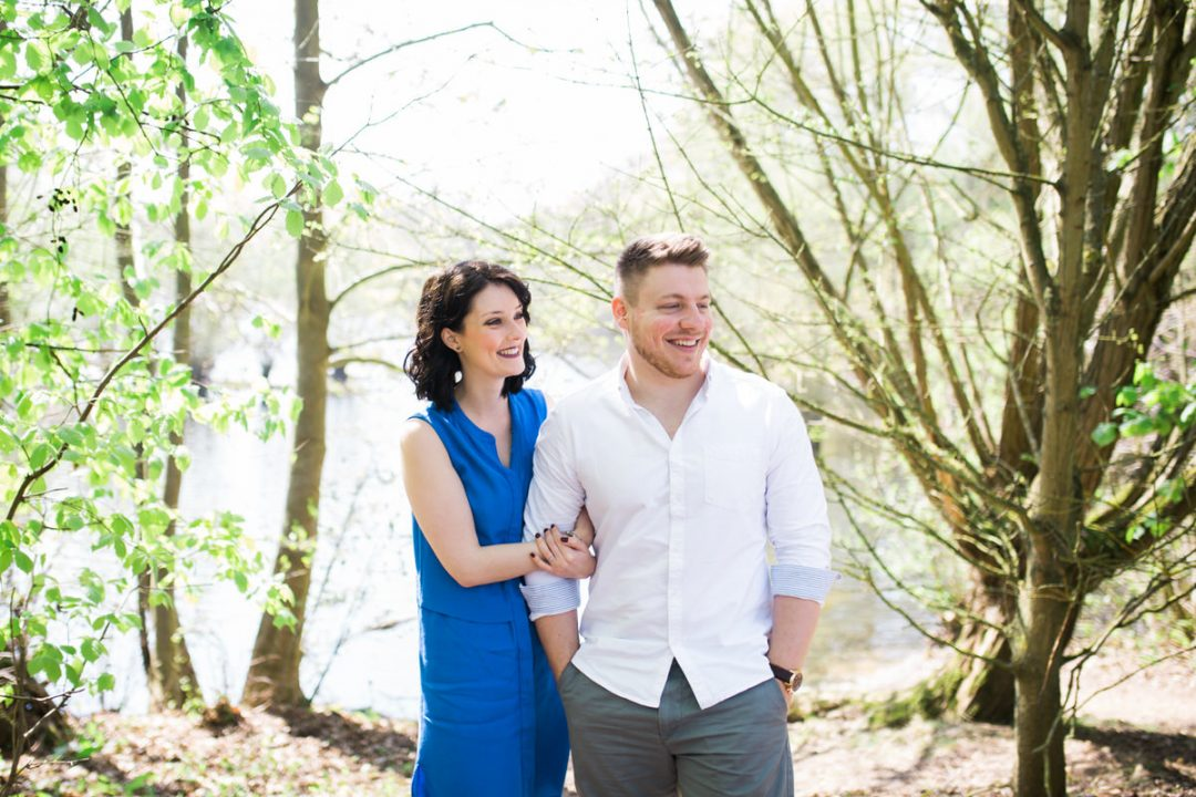 Flatford Mill Lake couple photos