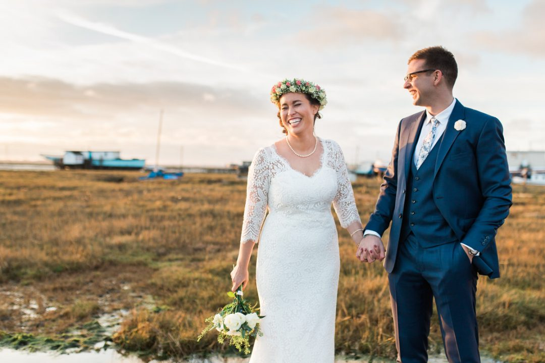East Mersea wedding photos