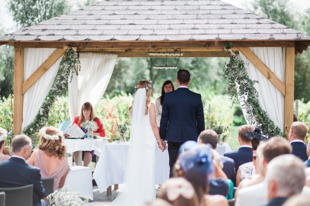 outside ceremony at west street vineyard