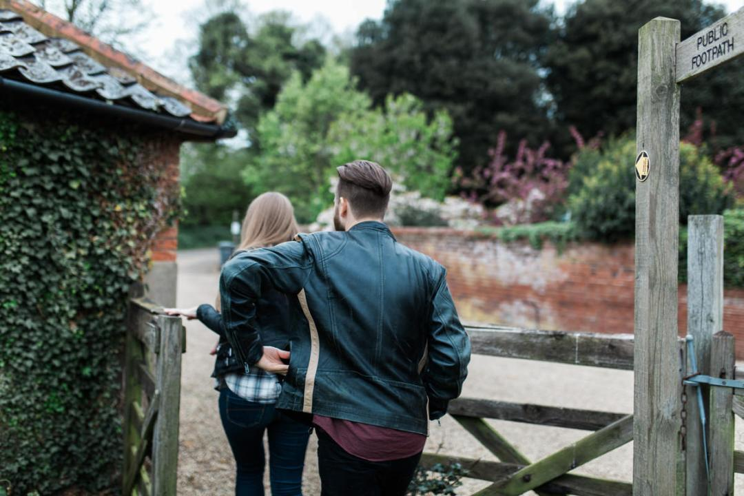 Suffolk engagement shoot