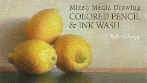 """""""Mixed Media Drawing - Colored Pencil and Ink Wash"""" by Robert Kogge"""