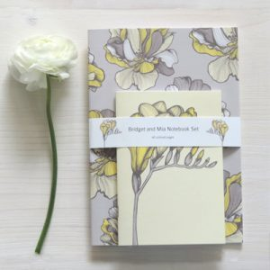Bridget and Mia Notebook Set by ElleJaneDesigns