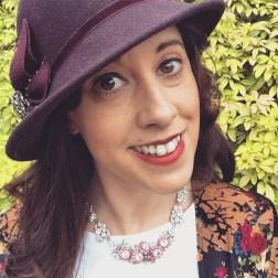 Necklace: 1950s, Gemma Redmond Vintage Hat: Dickens and Jones Kimono: Topshop T-shirt: Asos