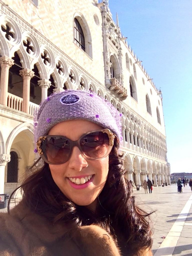 Outside the Palazzo Ducal