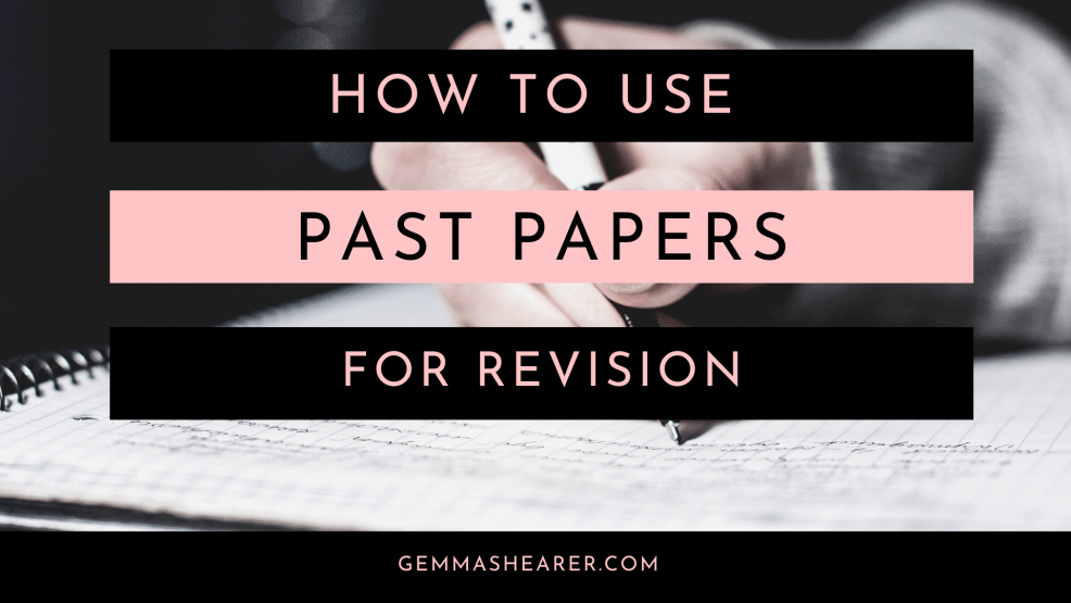 how to use past paper questions for a level chemistry and biology revision
