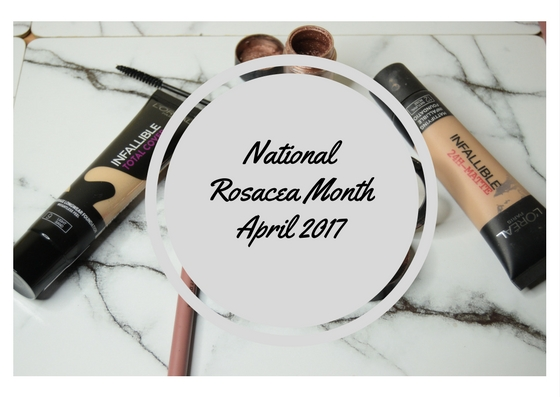 What are you embarrassed for? I'm not its just my skin! : My Battle with Rosacea
