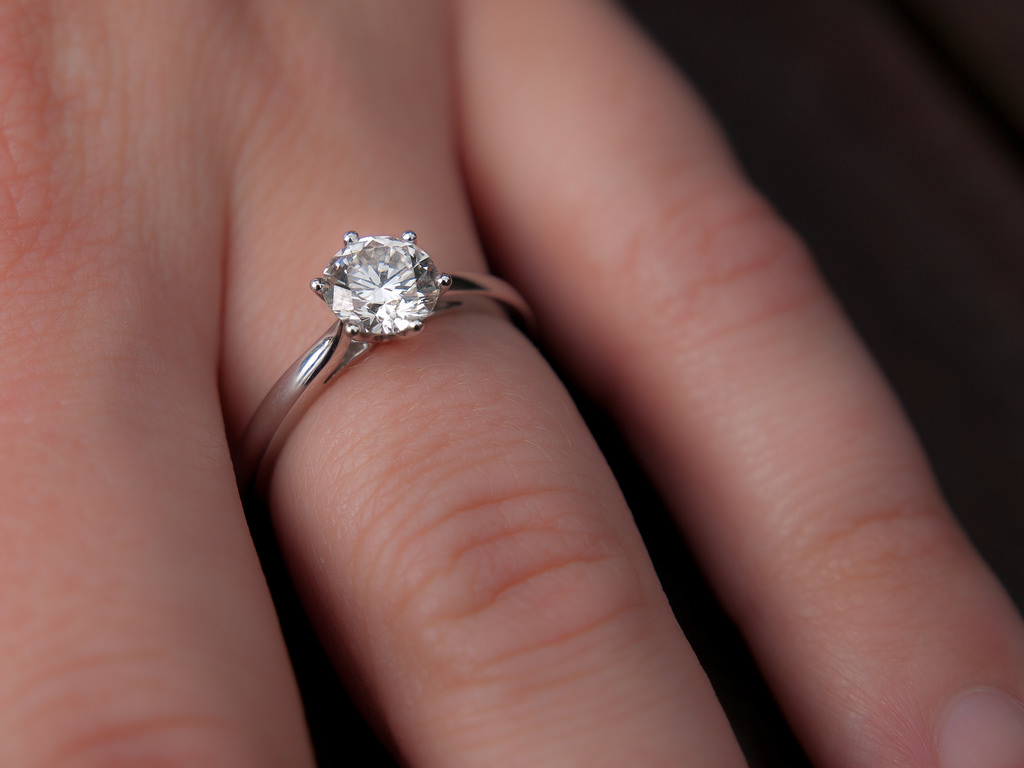 4859185569 8e290841a8 b - How to Help Your Friends Boyfriend Choose an Engagement Ring