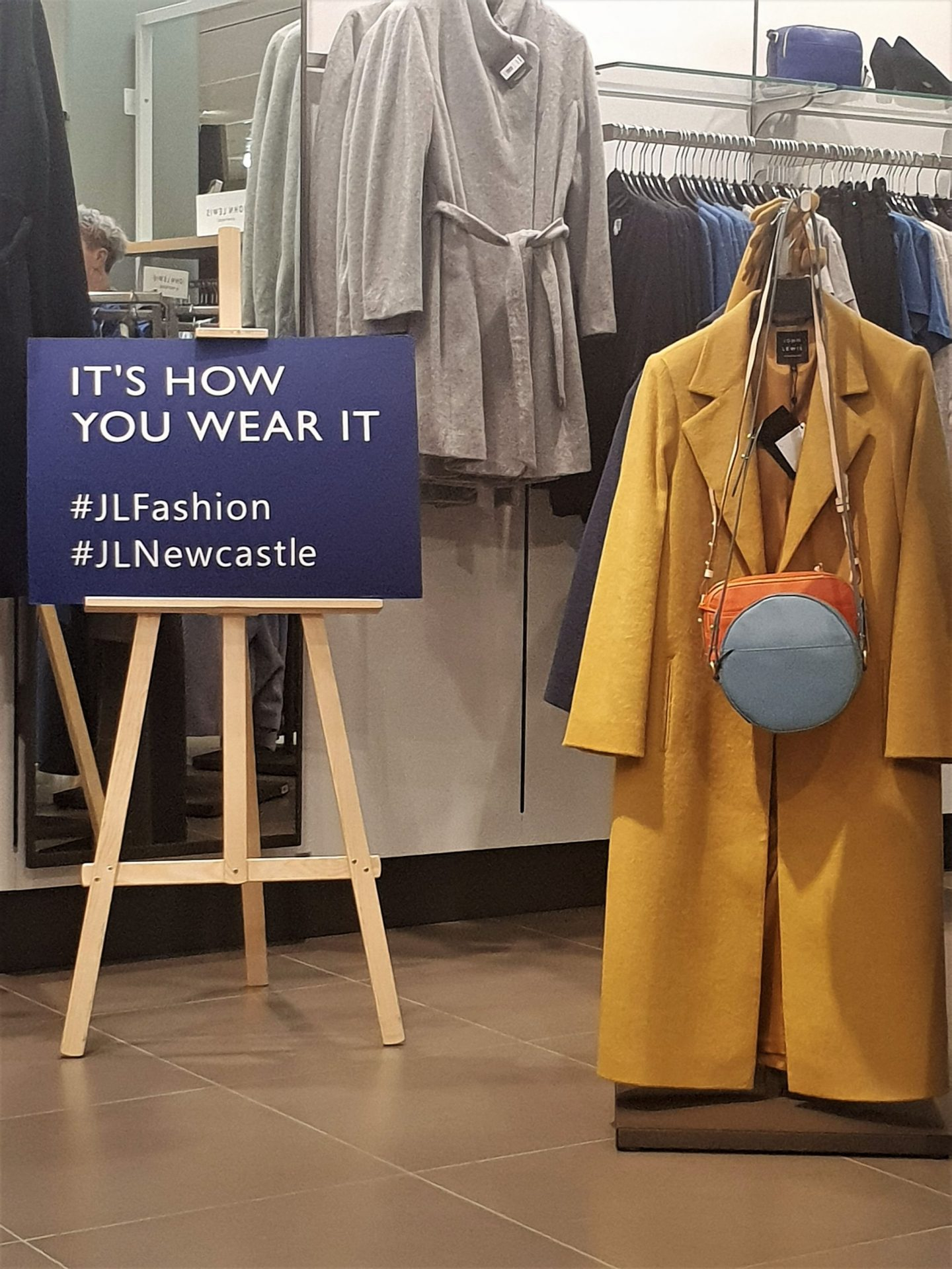 John Lewis fashion event
